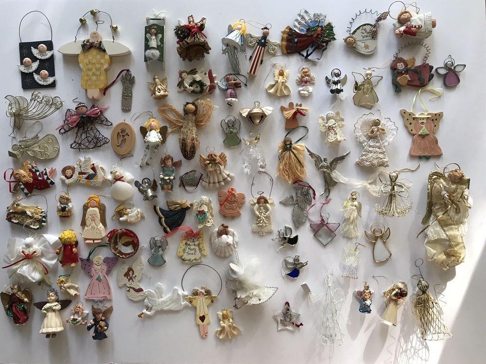 Angel Christmas Tree Ornaments Decoration Vintage Holiday