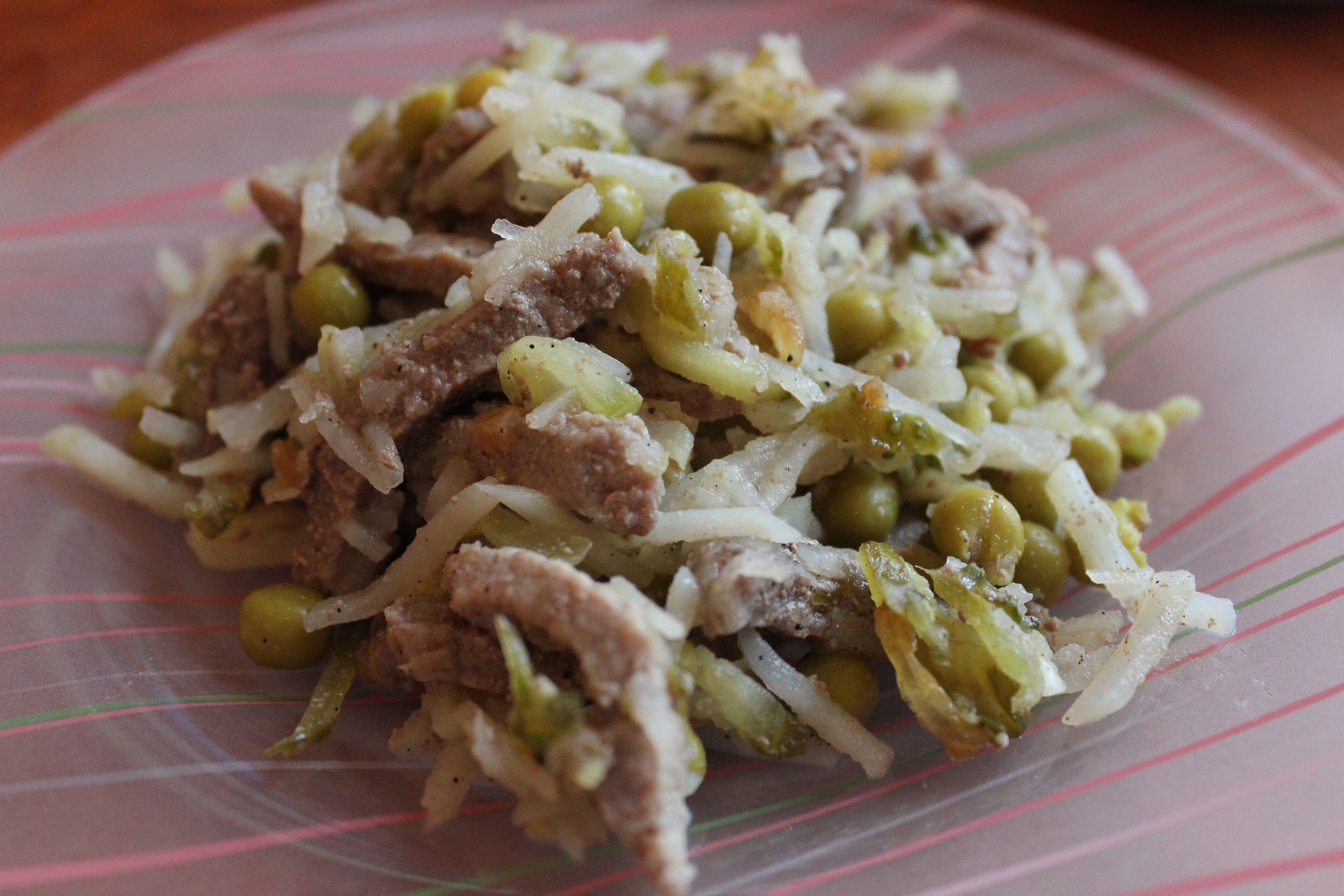 Рецепты с картинками салатов с мясом