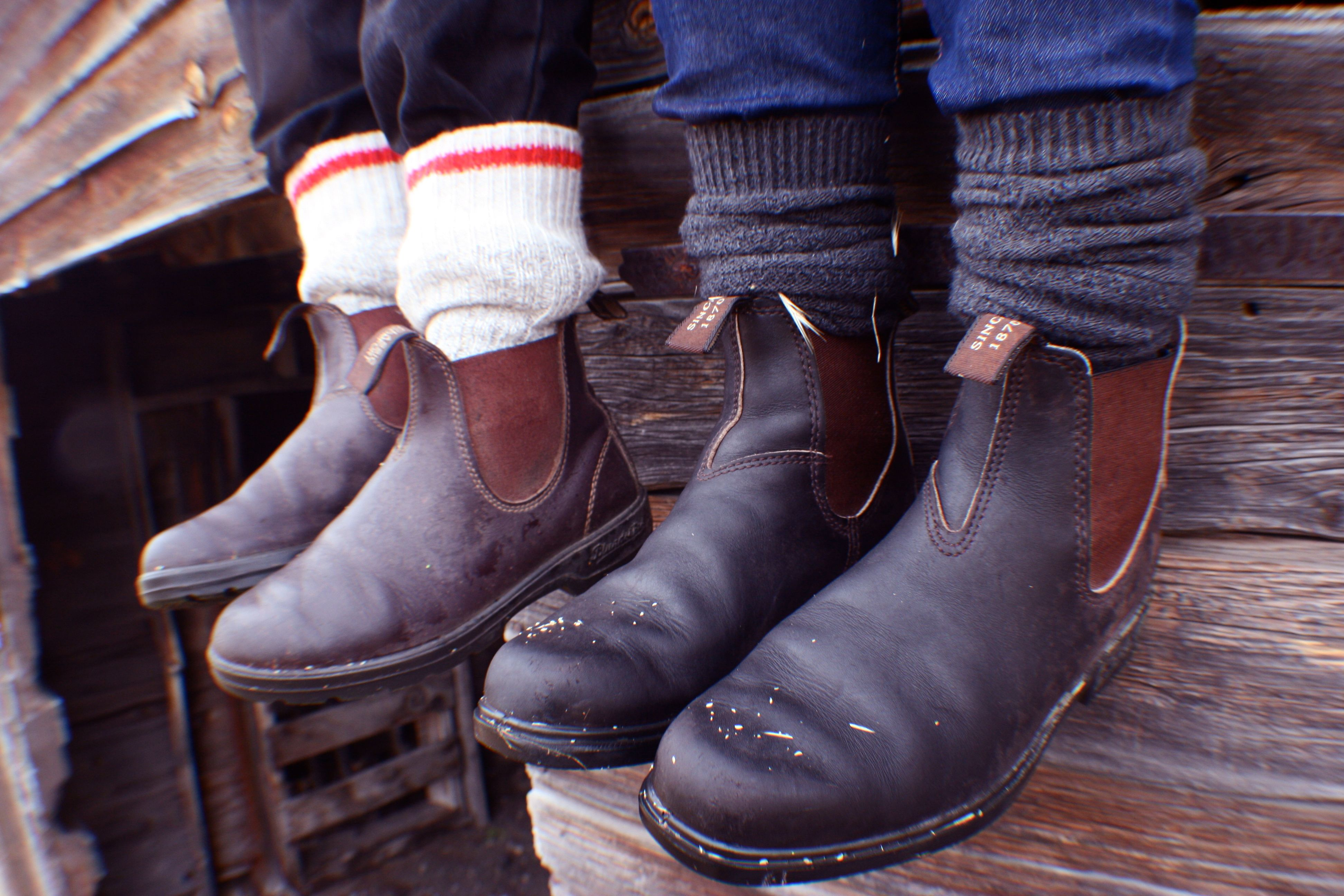 how to clean blundstone winter boots