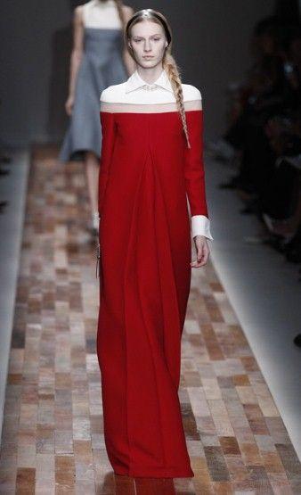 Valentino AW13: Cranberry