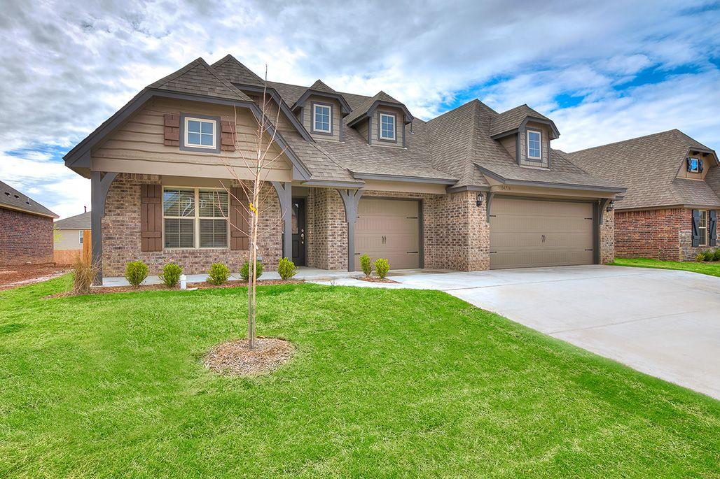 Simmons Homes Mason Plan - Traditional Elevation | New ...