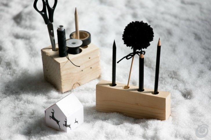66e282a040ef23 Idea for home made gifts - Darila – različna stojala za svinčnike Regali  Carini, Regali