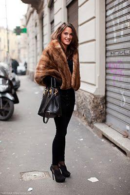 Bag It London Doll: Winter Street Style 2011