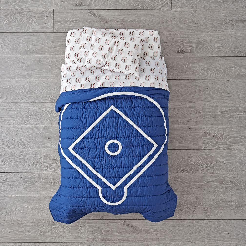 Shop Nod Baseball Toddler Bedding Our Nod Baseball Toddler Bedding