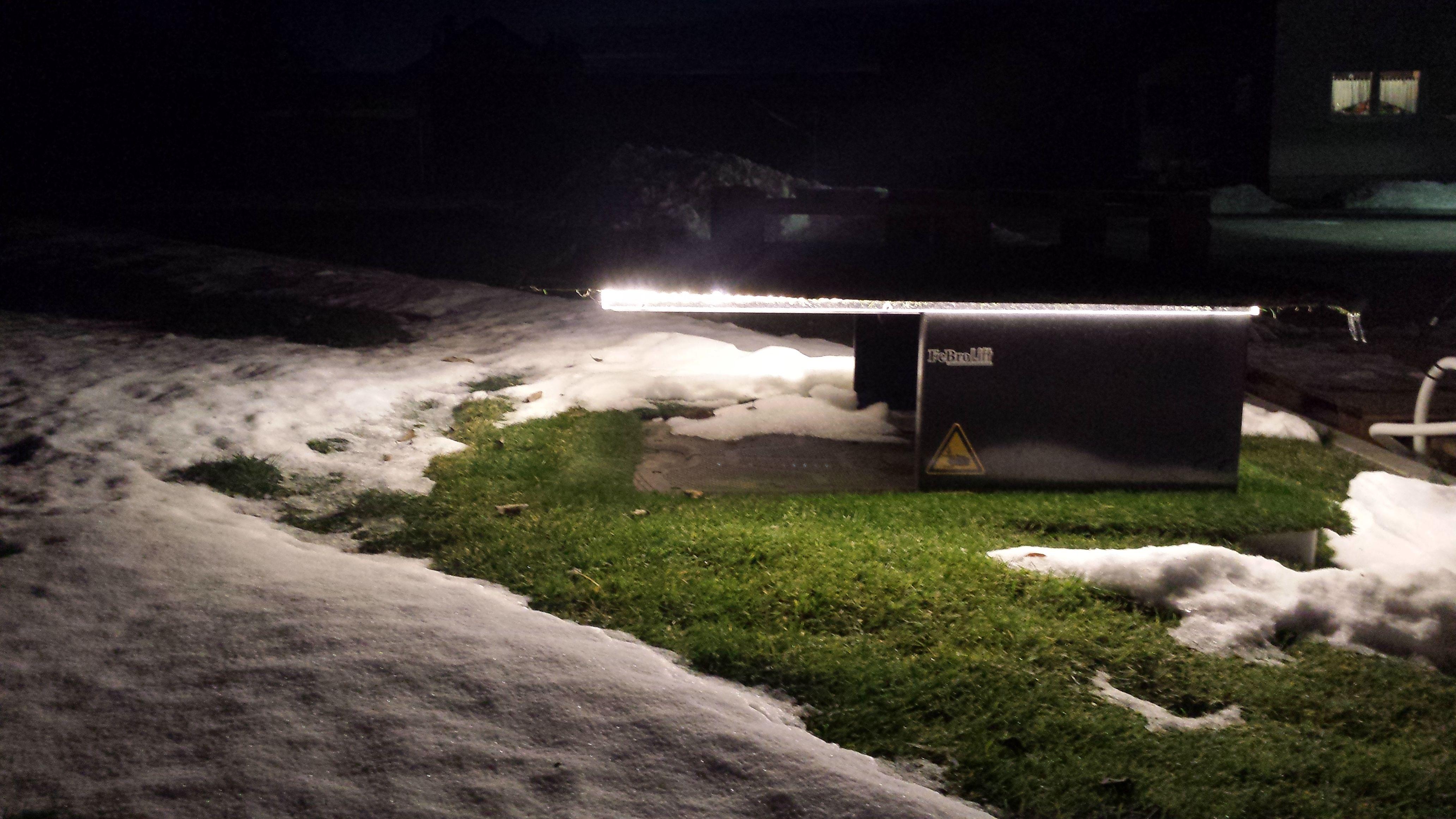Mahroboter Tiefgarage Im Winter Automower