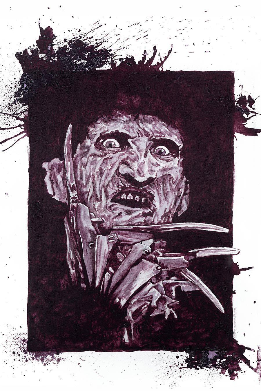 Grusel-Gemälde von Melissa Proudlock