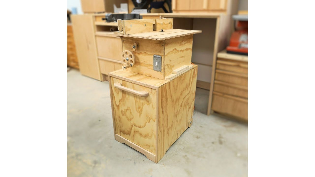 Making My Router Table Stand With Built In Dust Collection And Tricky Door Router Table Dust Collection Workbench Plans