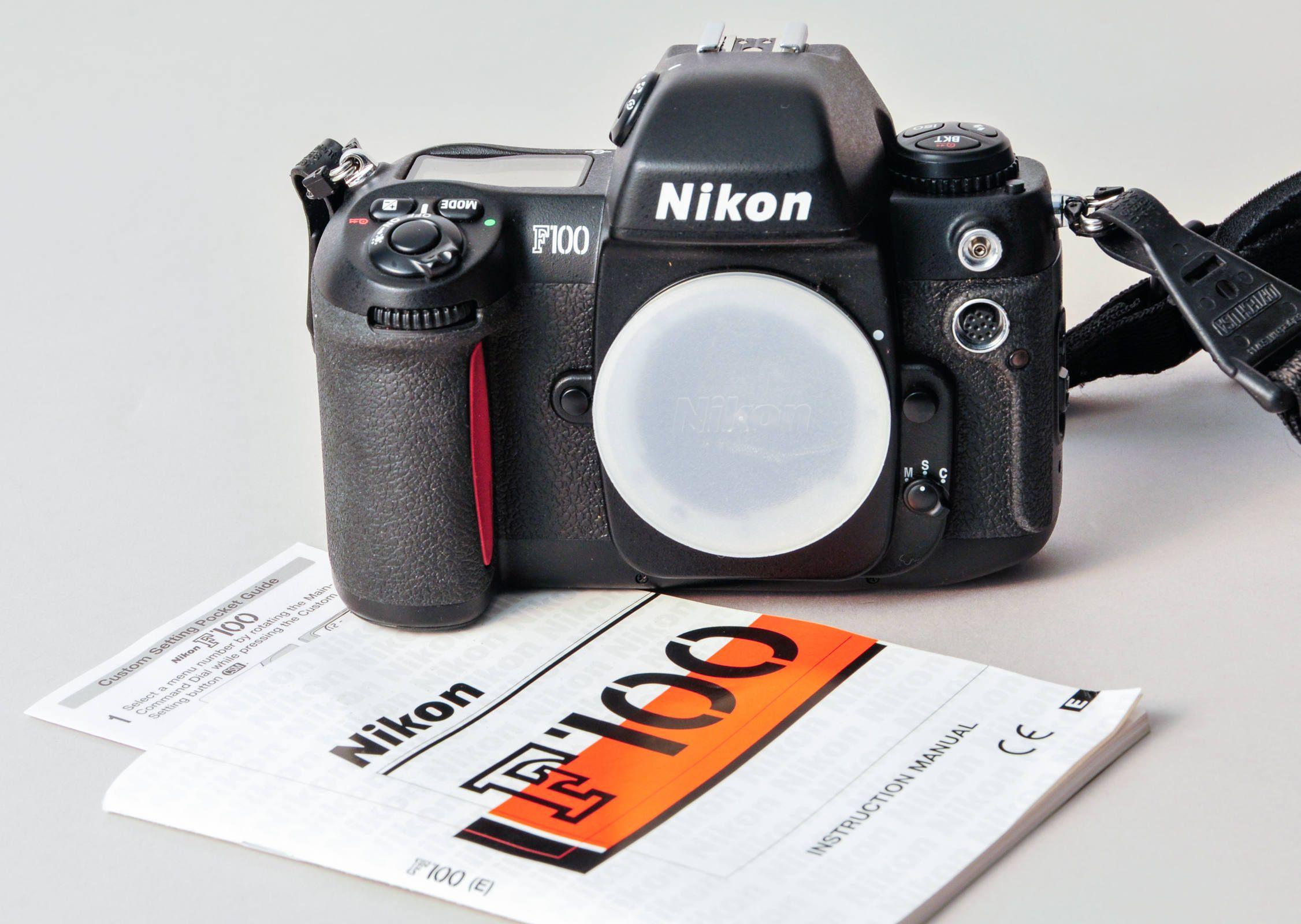 nikon f100 camera body automatic 35mm instructions excellent rh pinterest com Nikon F1 nikon f100 user manual