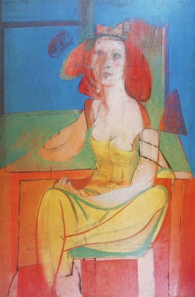 willem de kooning seated woman