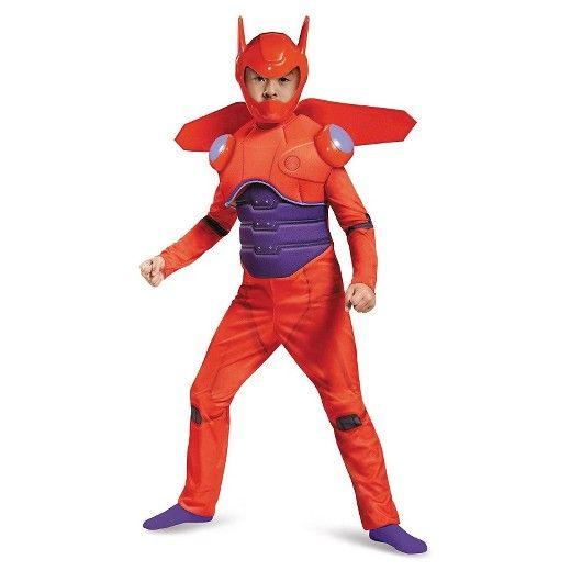 Disney Big Hero 6 Baymax Deluxe Boys\u0027 Muscle Costume  Target