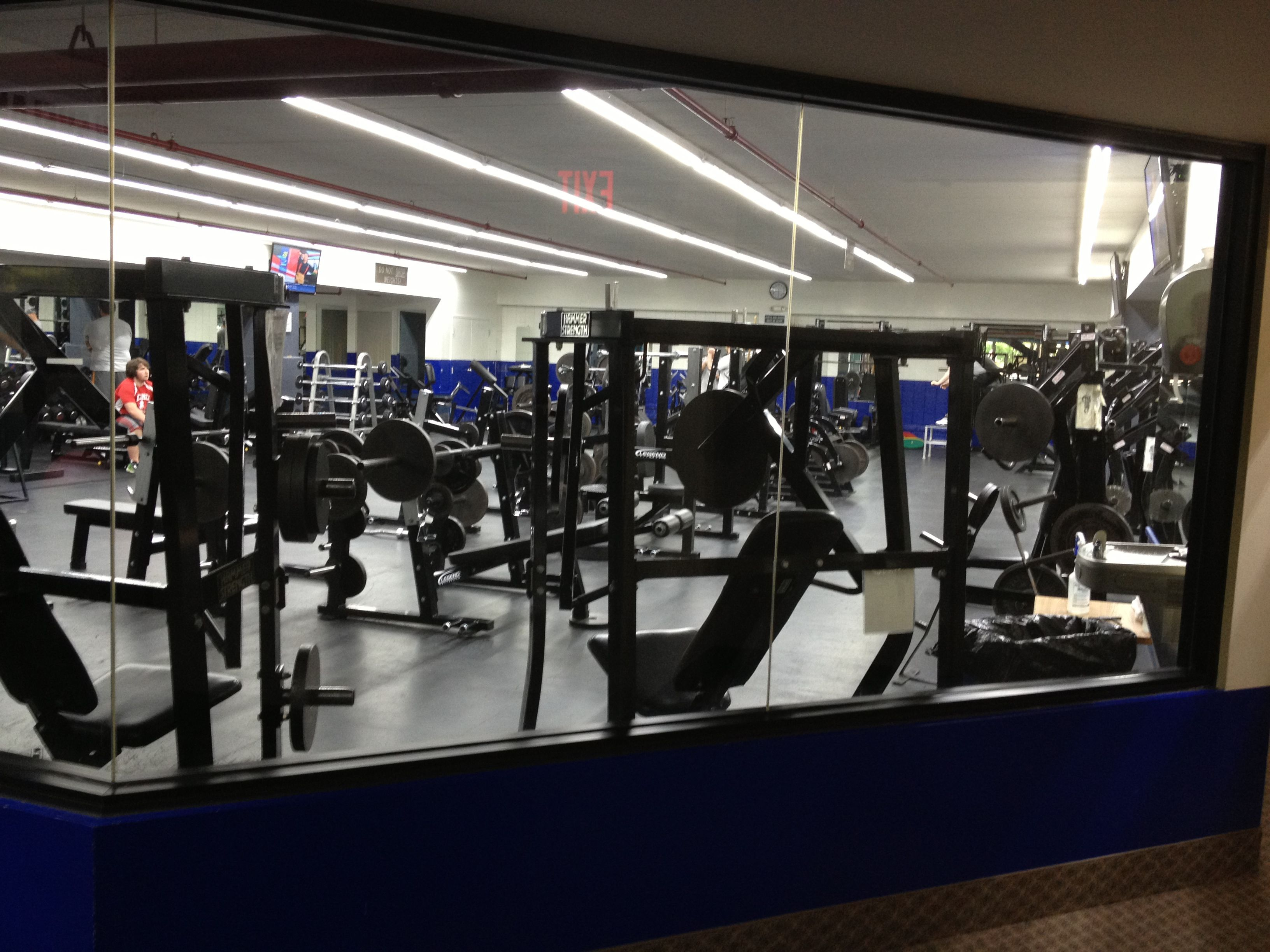 Get buff in cleveland fitness club s free weight room free