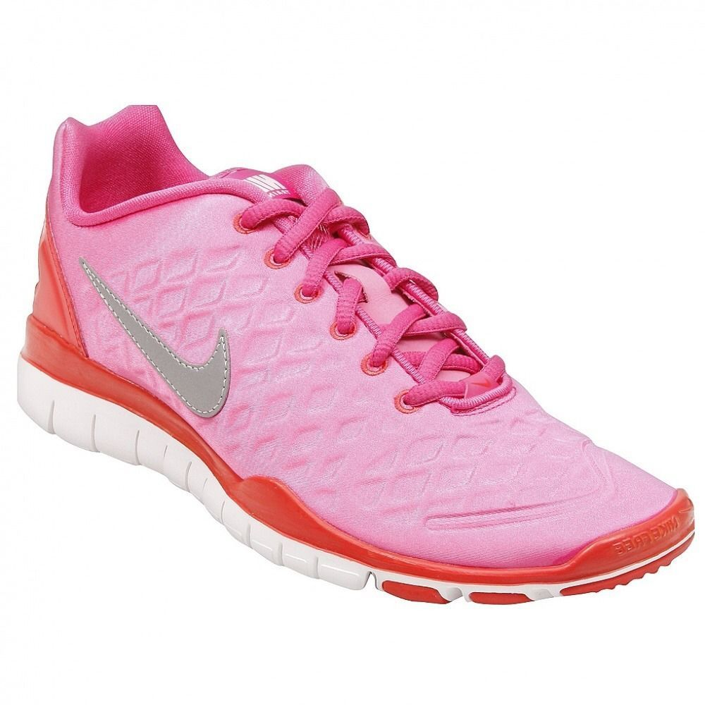 wholesale dealer 6727f 20961 NIKE Free TR Fit Winter Running Shoes Pink Red 469767-600 Womens sz 5.5 NEW