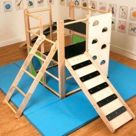 indoor climbing frame edusentials so gona do that klettern kinderzimmer kinder. Black Bedroom Furniture Sets. Home Design Ideas