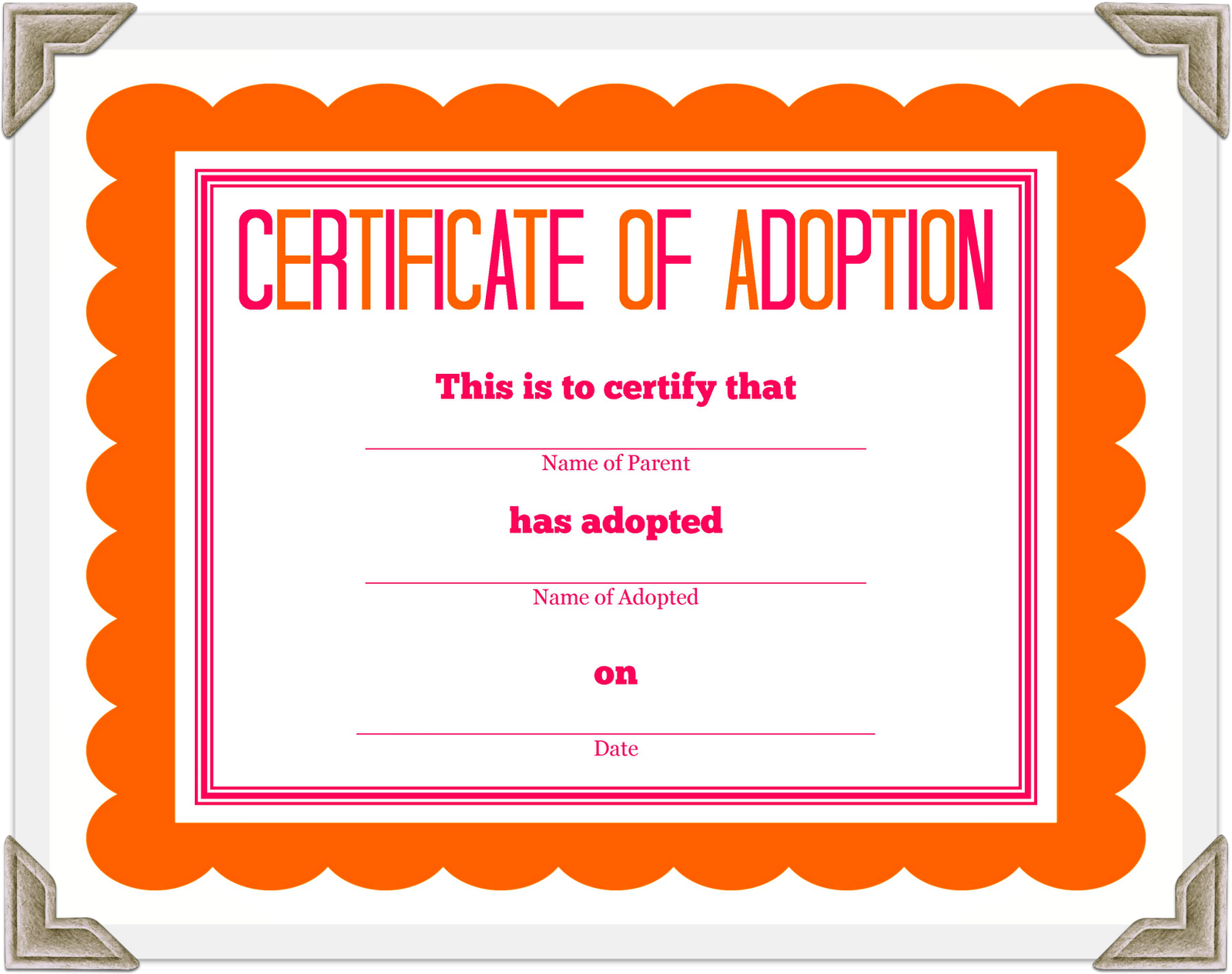Fake cat certificate of registration whith the pic stuffed fake cat certificate of registration whith the pic stuffed animal adoption certificate yelopaper Images