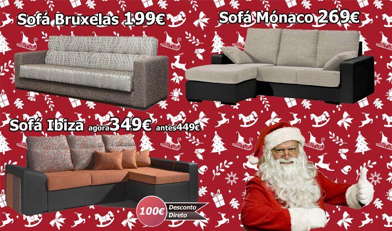 As promoções de Natal já chegaram.  Faça já a sua encomenda e passe um Natal muito mais confortável.