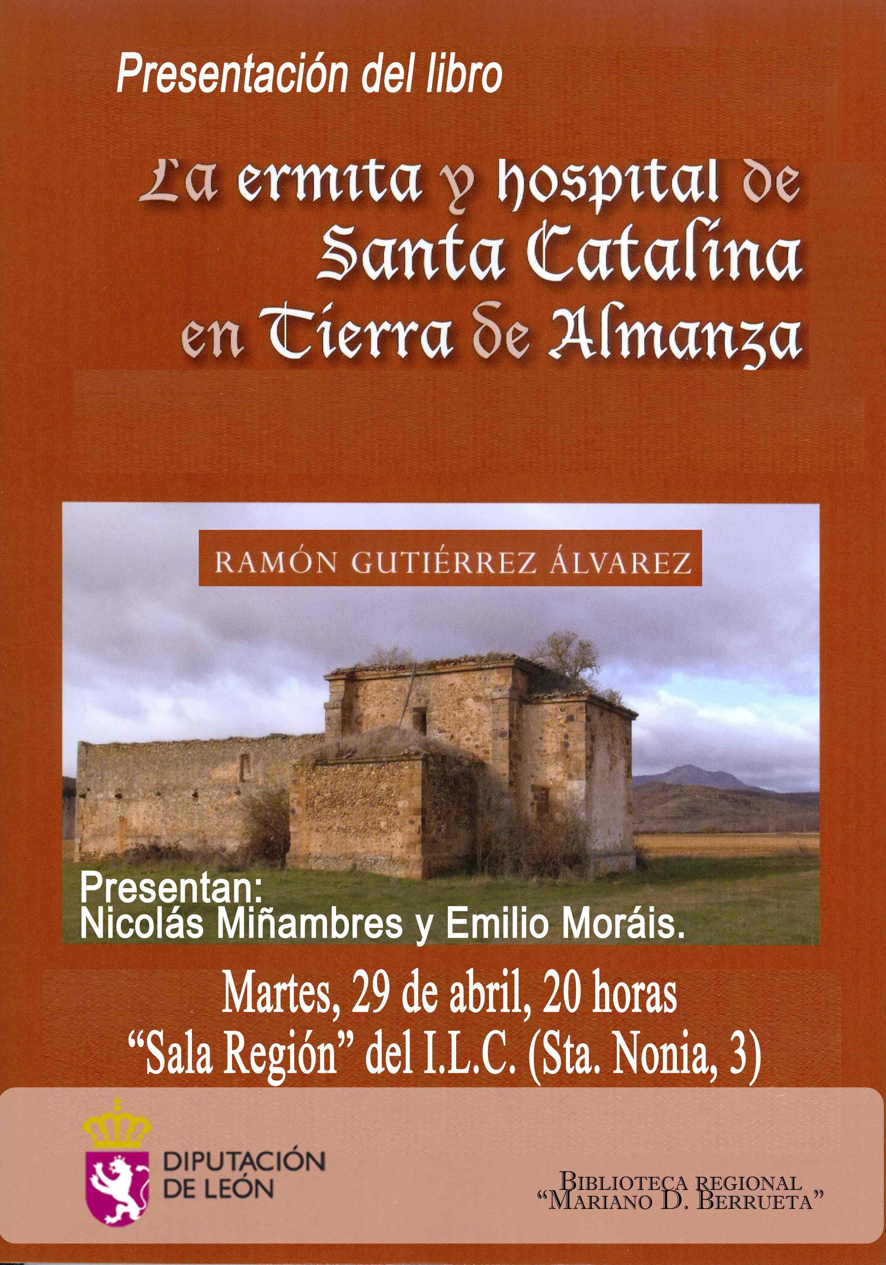 La ermita y hospital Santa Catalina en Tierra de Almanza