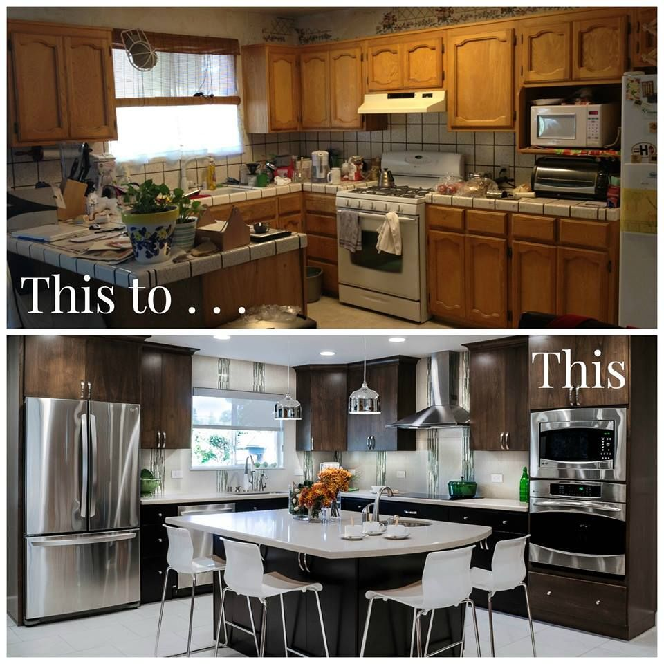 Is 2016 the year for your remodel?  Go from this to this!