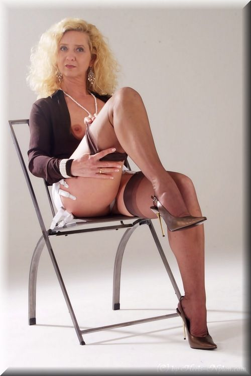 Nylon thick milf