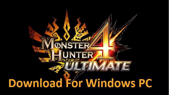 monster hunter 4 ultimate pc