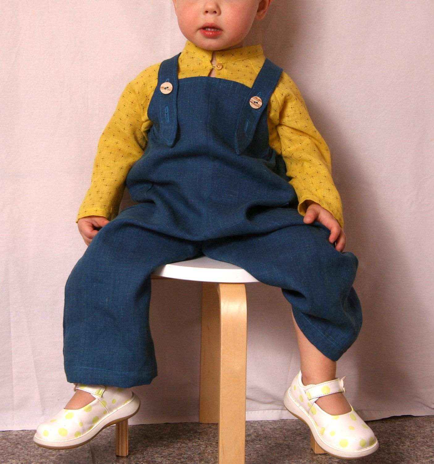 Linen overall by adatine on Etsy