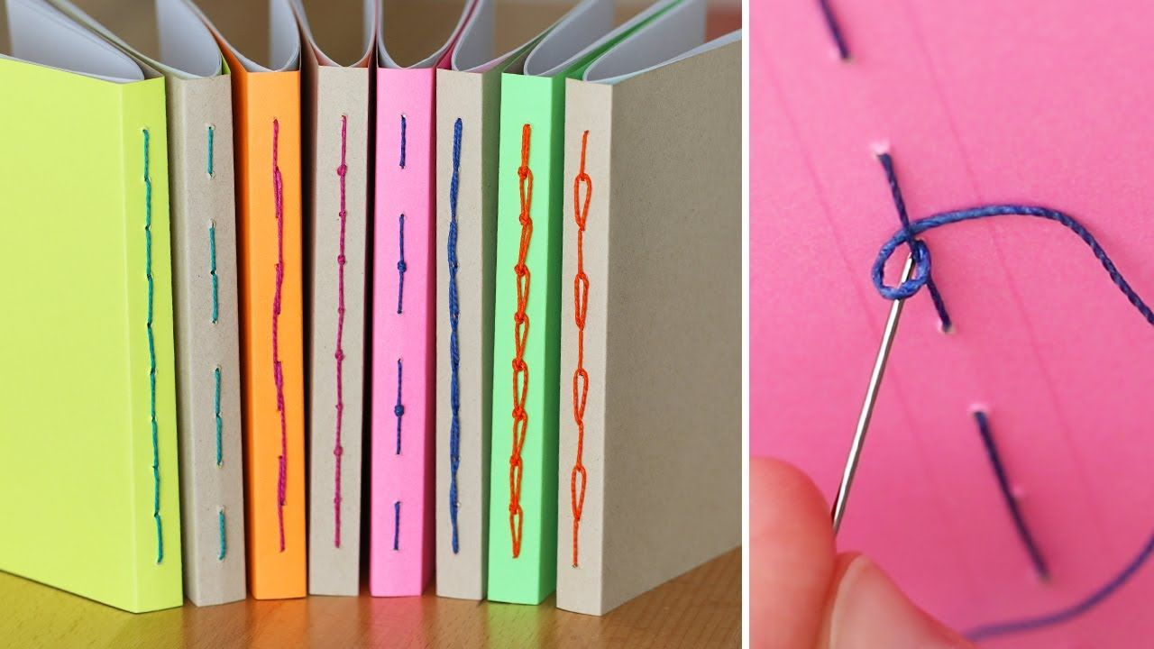 8 simple bookbinding stitch methods sea lemon