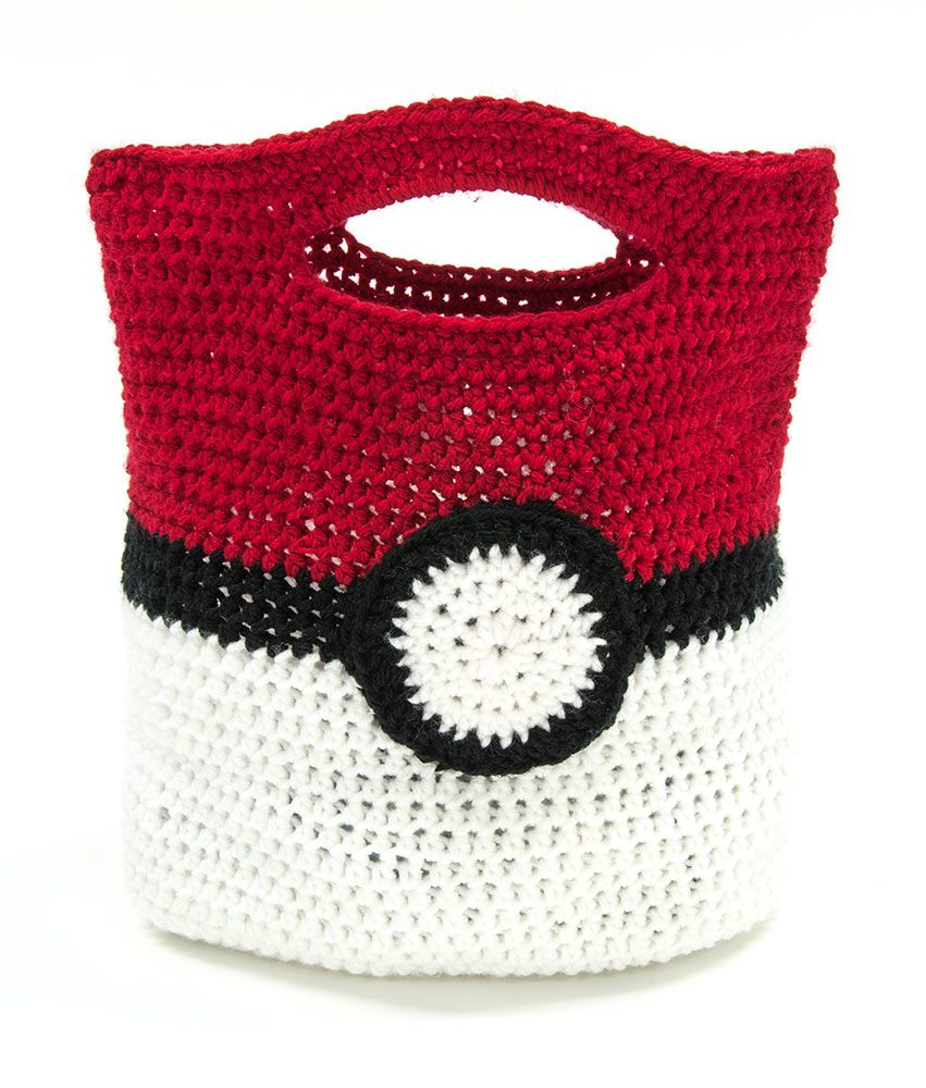 Check out this free Mary Maxim exclusive Pokemon Trainer Bag pattern ...