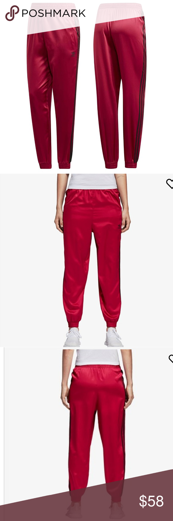 b7356c94f97ca Adidas Women Originals LEOFLAGE Pants Pride Pink M Size: M Description LEOFLAGE  PANTS BRIGHTLY COLOURED