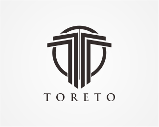 Toreto Letter T Logo Designed By Danoen Brandcrowd Logo Design Branding Design Logo Geometric Logo