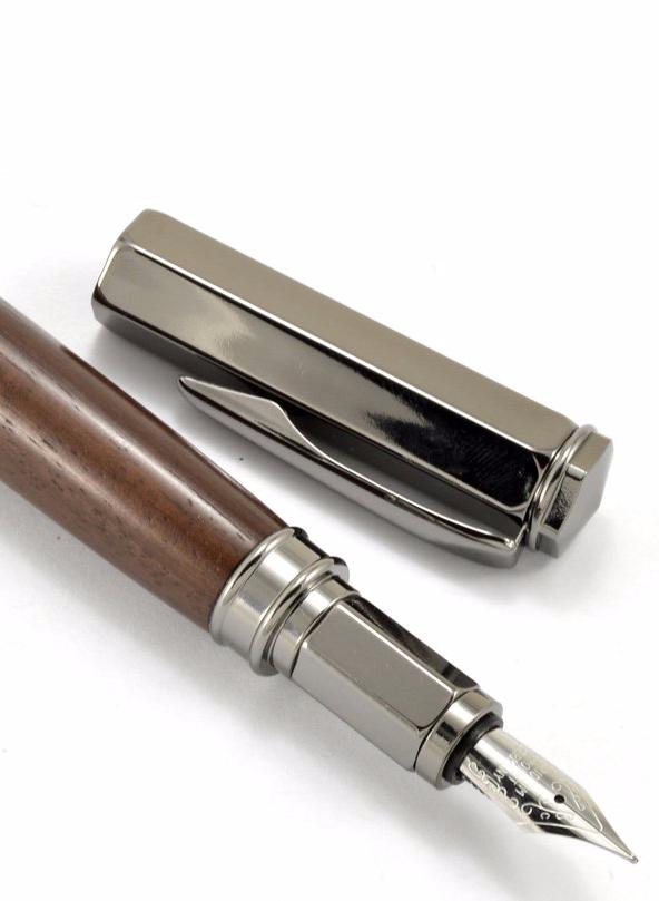 Wood Fountain Pen | fancy wood [en | classy wood pen gift | gift for your boss