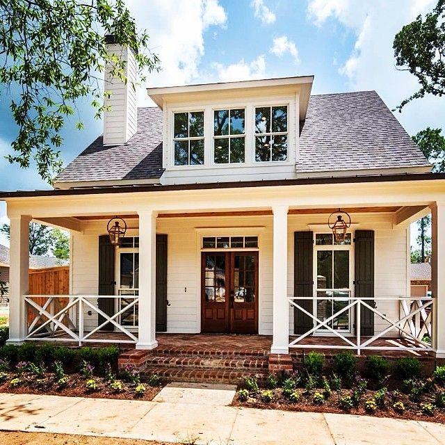 Pin by Rachel on Modern farmhouse in 2019   Bungalow homes ... Rachel Custom Homes Dogwood Plan on