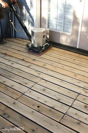 Best option to restore deck