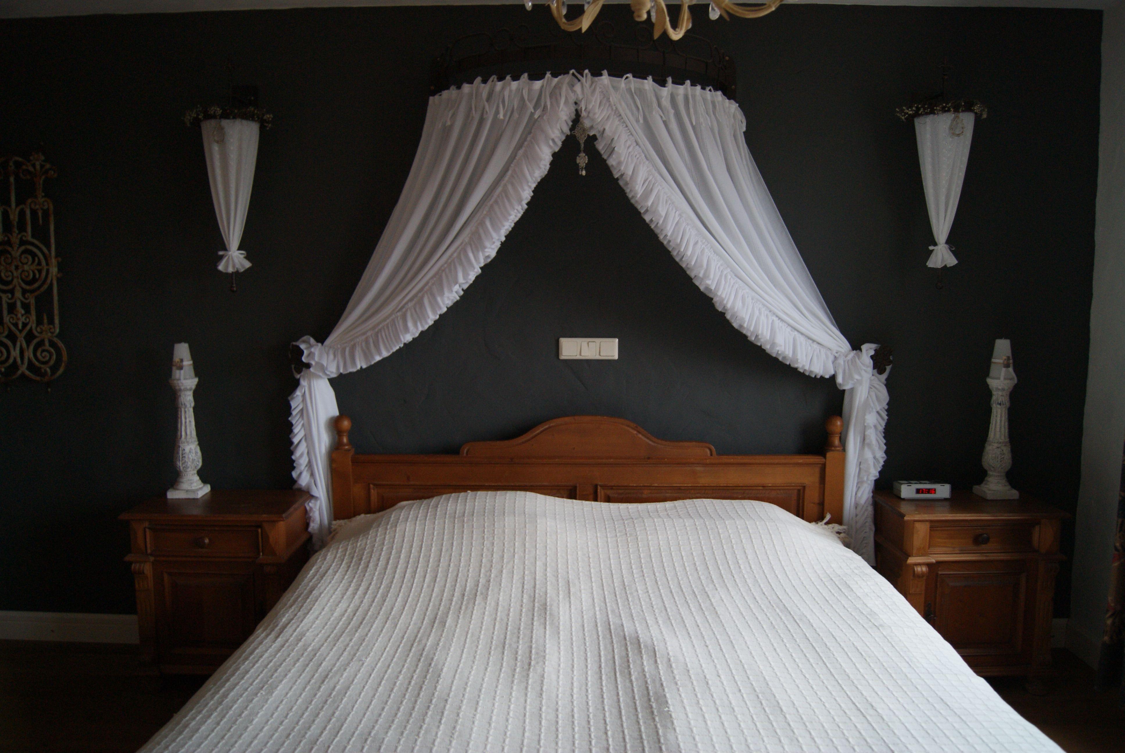 Hemelbed onze slaapkamer stage design and room
