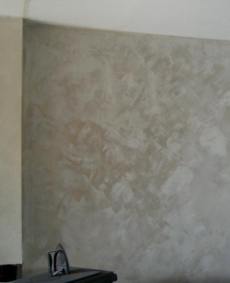 Faire un béton ciré sur du carrelage sol et mural Bricolage - Lessiver Un Mur Avant De Peindre