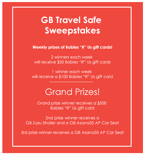 Take It From Me: GB Travel Safe Sweepstakes