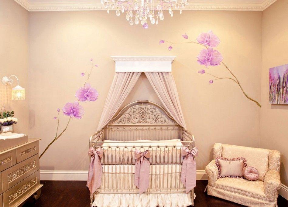 Purple Baby Girl Bedroom Ideas baby nursery, : exciting girl baby nursery room decoration using