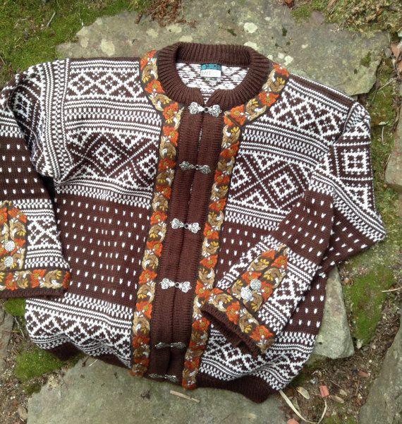 Vestlandskofte, Dale of Norway Norwegian wool sweater | Vintage ...