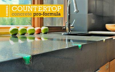 Concrete Countertop Pro Formula Mix Classic Colors Concrete