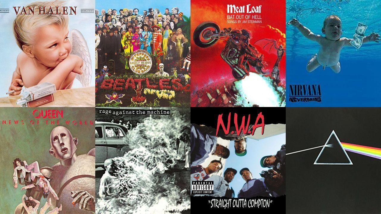 Top 10 Coolest Album Covers Of All Time Music album