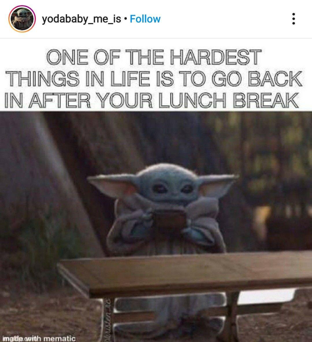 Pin By Meredith Underwood On Baby Yoda Yoda Meme Retail Humor Star Wars Memes