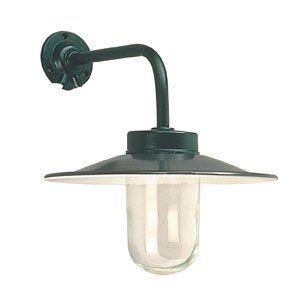 Wandlamp industrieel, zwart, haaks