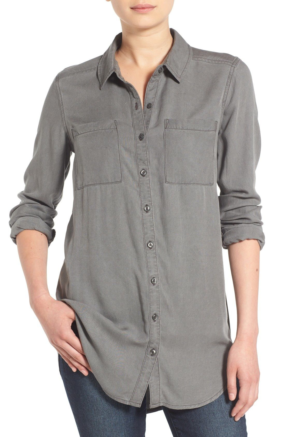 713ae69043ed BP. Woven Twill Tunic available at  Nordstrom