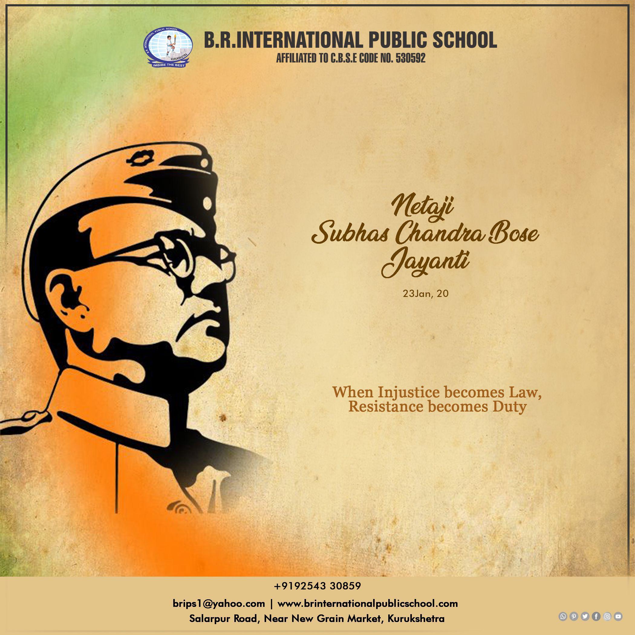 When Injustice Becomes Law Resistance Becomes Duty Netajisubhaschandrabose Brinternationalpublicschool Education 21st Century Skills Kurukshetra Injustice