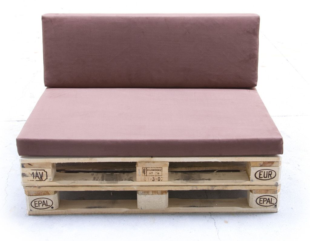 Palettenmöbel Polster industriale wohnzimmer bilder: paletten-polster kombi sitz&lehne mit