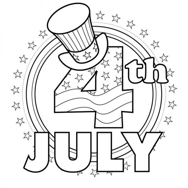 Coloring Pages For 4th Of July 4th Of July Coloring Pages Momswhothink July Colors July Crafts Free Coloring Pictures