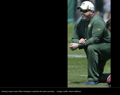 Oh Look A Mike Holmgren Appearance Total Packers Mike Holmgren Mike Mccarthy Packers