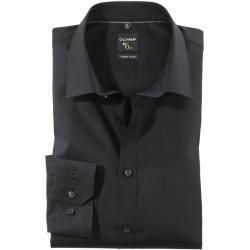 Photo of Olymp No. Seis camisas, super slim, braço extra longo, preto, 46 Olymp
