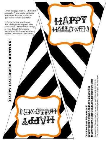 halloween parties halloween treats halloween diy free printable banner free printables