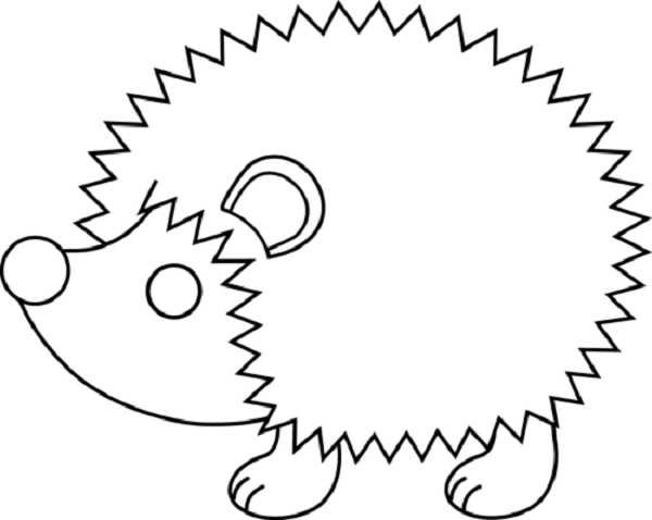cute hedgehog coloring pages cute hedgehog coloring pages