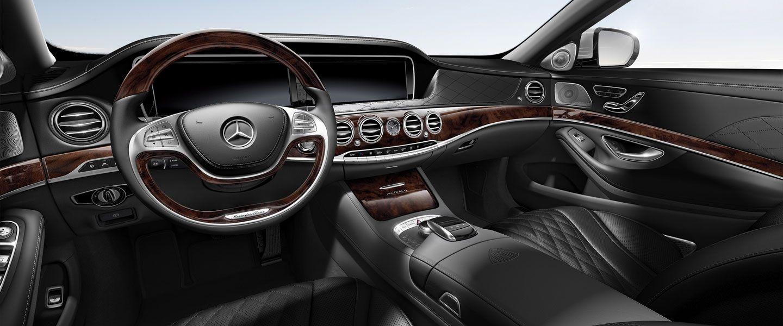 Mercedes Maybach S600 Interior