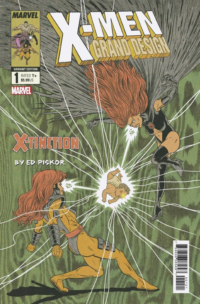 X Men Grand Design X Tinction 1 Grand Designs X Men Variant Covers